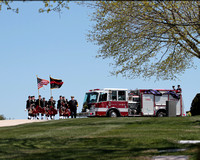 Captain Bill Hall CCFD Funeral April 2013